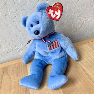 """2001 TY Beanie Babies Bears Blue """"America"""" Bear Collectable Toy for Sale in Elizabethtown, PA"""