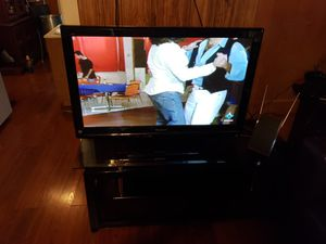Panasonic 42in TV with Table for Sale in Fort Worth, TX