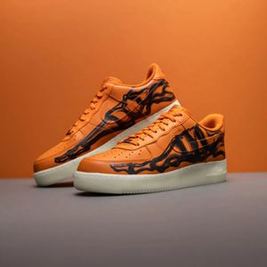 Nike Airforce 1 Orange skeleton sz 10.5 DS for Sale in Wallingford, CT