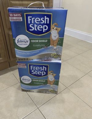 Fresh step cat litter all 3 boxes $30 for Sale in The Bronx, NY