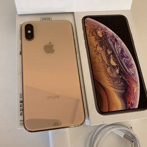 🎁256GB IPHONE XS GOLD UNLOCKED FOR ANY COMPANY W/ACCESSORIES EVERYTHING WORKS 💯%👍🏼 for Sale in Escondido, CA