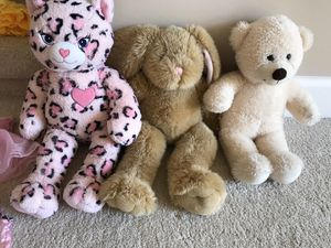 HUGE LOT: Build-a-bear stuffed animals + clothes & accessories for Sale in Redmond, WA