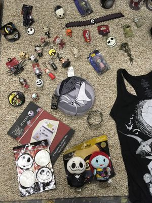 Nightmare before Christmas memorabilia for Sale in Broomfield, CO