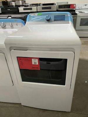New! White GE Gas Dryer with Sanitize Cycle!1 Year Manufacturer Warranty Included for Sale in Chandler, AZ