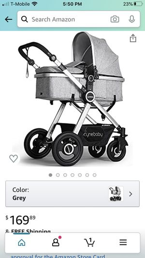 Cynebaby convertible bassinet stroller for Sale in Mountain View, CA