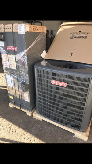 Ac unit set 5 tons installed NEW for Sale in West Park, FL