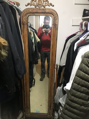 Antique full length mirror for Sale in Portland, OR