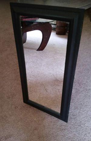 Black wall mirror (local p/u only) for Sale in Eddington, PA
