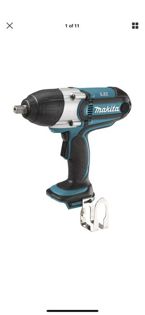 """Makita XWT04Z 18V LXT® Li‑Ion Cordless 1/2"""" Sq. Drive Impact Wrench, Tool Only for Sale in San Francisco, CA"""