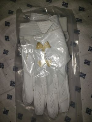 BRAND NEW Under Armour UA Spotlight wide receiver gloves for Sale in Wimauma, FL
