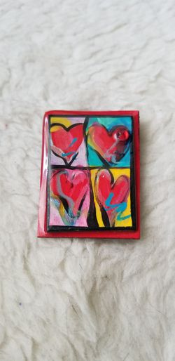 4 Hearts Brooch/Pin for Sale in St. Petersburg,  FL