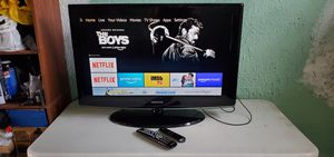 "Samsung 32"" led tv and Amazon firestick with Alexa for Sale in Orange, CA"