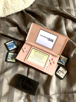 DS lite with games, charger and bag for Sale in Edmonds, WA