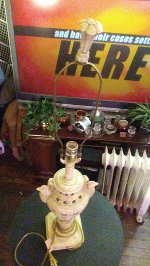 Vintage Ceramic porcelain lattice rooster lamp for Sale in Lexington, KY