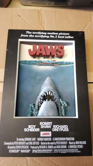 Jaws 3D Poster for Sale in Carson, CA