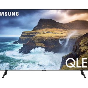 Samsung Q70 Series 55-Inch Smart TV, Flat QLED 4K UHD HDR - 2019 Model for Sale in Belmont, MA