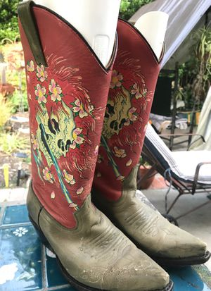 Vintage Ed hardy cowboy boots for Sale in San Diego, CA