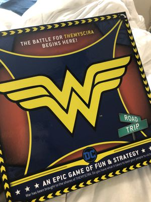 CLASSIC WONDER WOMAN BOARD GAME NEW IN PLASTIC for Sale in San Bernardino, CA