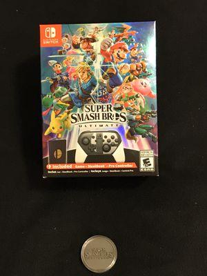 Nintendo Switch Game Super Smash Bros Ultimate Collectors Edition for Sale in Phoenix, AZ
