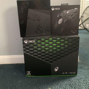 Xbox Seris X Bundle for Sale in Greater Upper Marlboro, MD