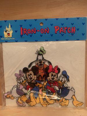 Disney XL iron on patch for Sale in Carol Stream, IL