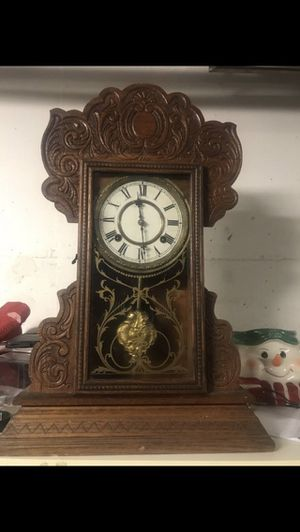 Antique Waterbury clock from 1880 working good $175 OBO. for Sale in Washington, DC
