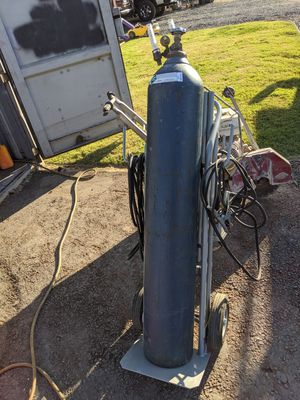 Tig welder hand truck (cart only welder or argon tank not included) for Sale in Turlock, CA