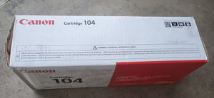 Canon 104 0263B001AA L90 L120 D420 D480 4100 4120 4150 4270 4350 4370 4690 Toner Cartridge (Black) in Retail Packaging for Sale in Sacramento, CA