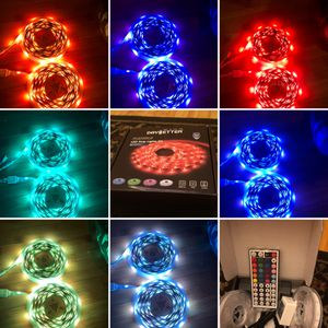 LED strip lights with control remote 32.8 feet long for Sale in Compton, CA