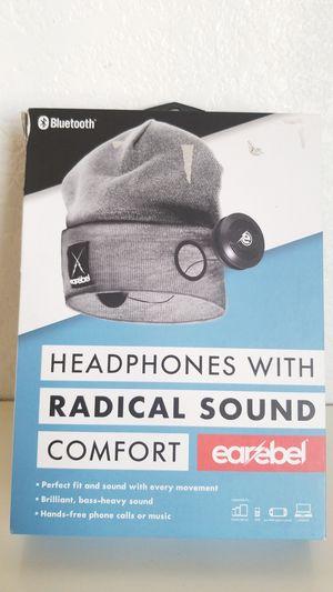 Earebel Bluetooth Headphones with Street Beanie for Sale in Fontana, CA