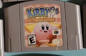 N64 Kirby64 The Crystal Shards for Sale in Romeoville, IL