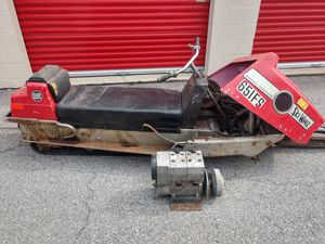 1970s Massey Ferguson ski whiz snowmobile summer project for Sale in Des Plaines, IL