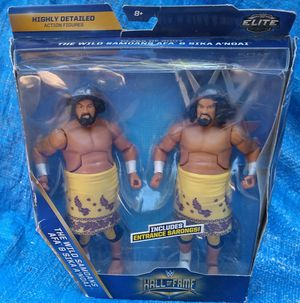 WWE Elite MIP Hall Of Fame The Wild Samoans Afa & Sika A'noai MIP Mattel 2016 Wrestling Action Figures for Sale in Pasadena, CA