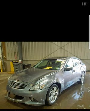 2010 infiniti g37x parts only local pickup only for Sale in New York, NY