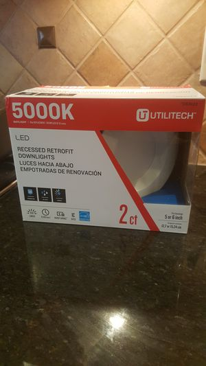 New LED Recessed Lights - bright dimmable 5/6inch for Sale in Manassas Park, VA