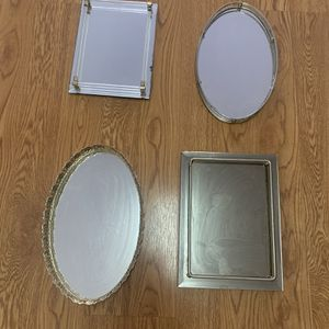 Four Vintage Glamour Beauty Mirrors for Sale in Oakland, CA