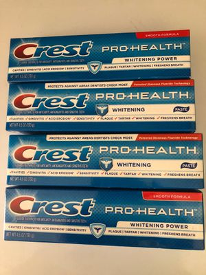 Crest PRO-HEALTH 4 X 8 for Sale in Santa Ana, CA