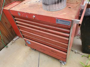 Older snap on tool box for Sale in Homeland, CA