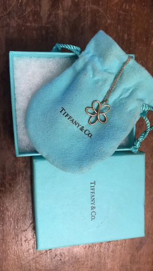 Tiffany & Co. Sterling Silver Flower necklace for Sale in Indianapolis, IN