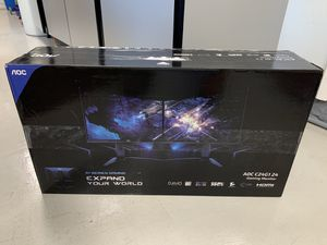 """AOC C24G1 24"""" Curved Gaming Monitor FHD 1080p, 1ms 144Hz top 10 monitors for gamers- Brand new sealed in box for Sale in Los Alamitos, CA"""