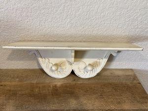Small wooden white shelf for Sale in Lodi, CA