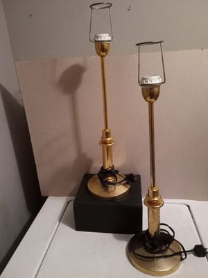Brass lamps for Sale in Greenbelt, MD