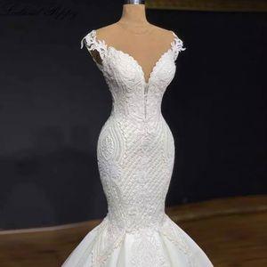 Luxury Mermaid Wedding Dress for Sale in Silver Spring, MD