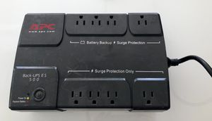 Apc battery backup es 500 for Sale in Hollywood, FL