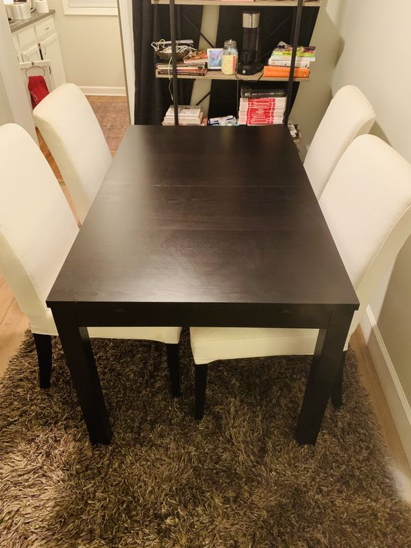 Extendable IKEA Dining Set in excellent condition