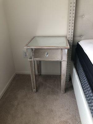 2 mirrored nightstands for Sale in Alexandria, VA