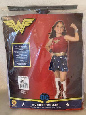 Wonder Woman Girls Large Halloween Costume DC Superhero for Sale in Beaverton, OR