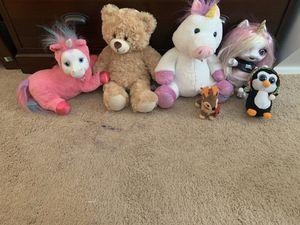 Variety of 22 stuffed animals $20 for Sale in Kirkland, WA