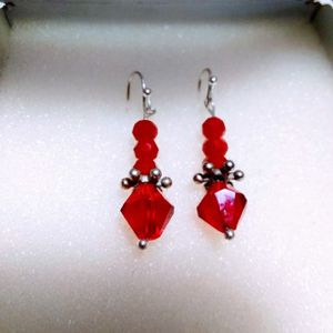 Beautiful ❤️ Red Earrings,🎁🎁🎁pick It Up In Lake Worth. for Sale in West Palm Beach, FL