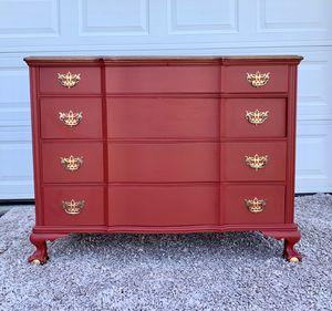 Refurbished Vintage 4 Drawer Dresser / Buffet for Sale in Morgantown, WV